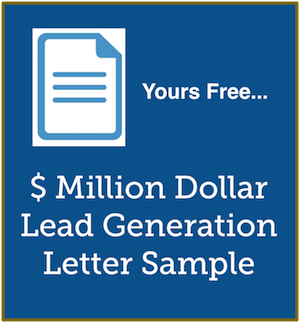 lead generation letter sample